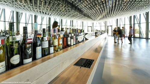 Wine bar in La Cité du Vin in Bordeaux