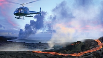 Big Island Helicopter and Volcano Sightseeing Tour From Oahu
