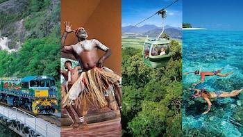 2-Day Combo Tour: Kuranda Scenic Railway & Green Island Reefs