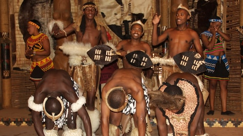Zulu dancers perform in Shakaland