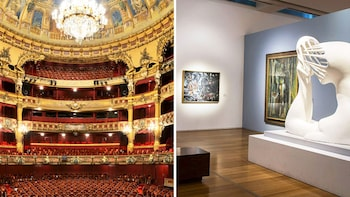 City Walking Tour with Optional Colón Theater & MALBA Museum