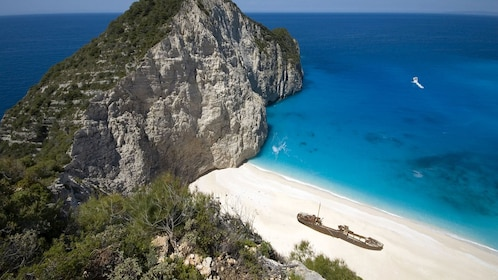 Smuggler's Cove in the Ionian Islands