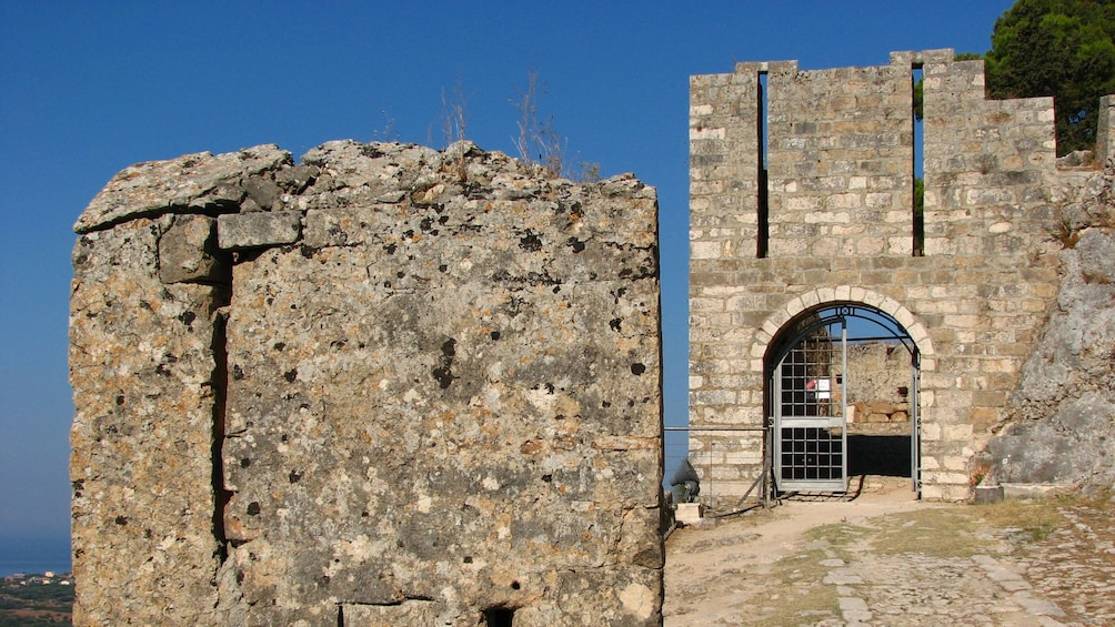 Show item 2 of 5. Old brick fortress on Kefalonia Island