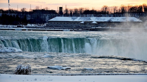 Sunset view on the Private Wine Tasting Tour in Niagara