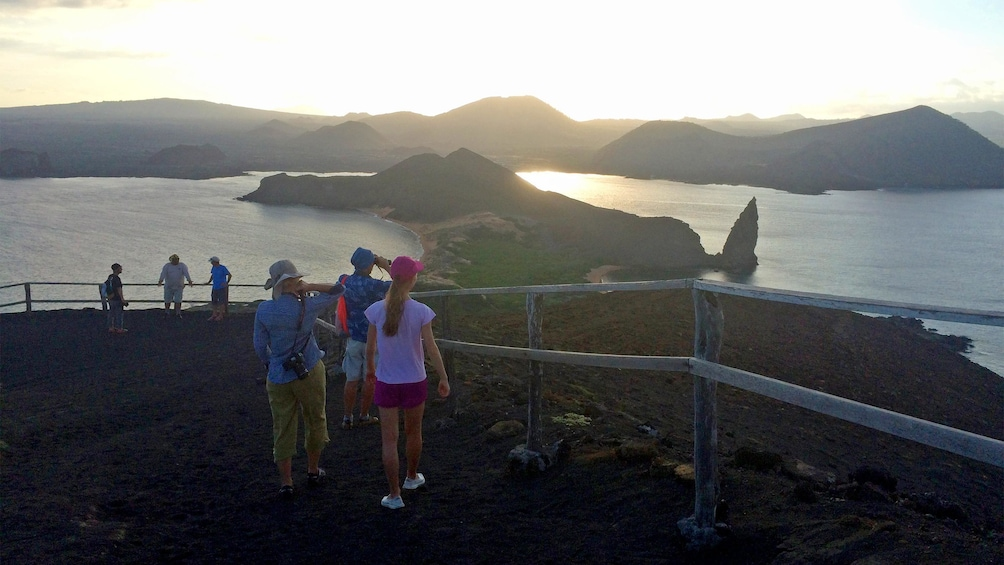 Show item 5 of 5. Sunset view on the Galapagos Land Tour