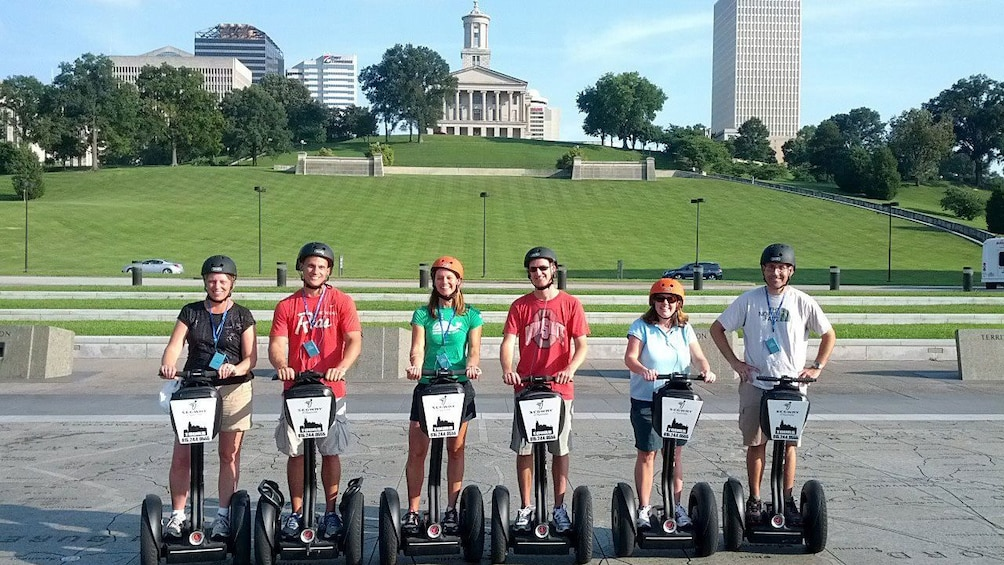 Segway group on tour in Nashville