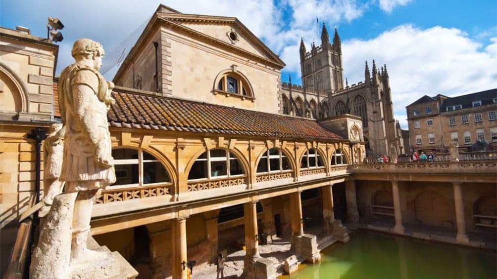 Show item 4 of 5. Roman Baths in England