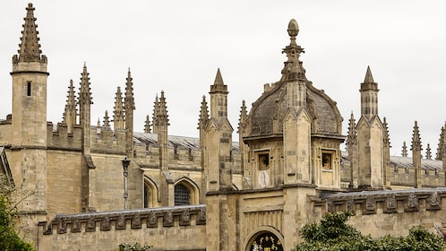 View of the architecture of Oxford