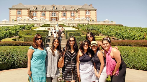 Ladies on the Northern Sonoma Small Group Tour