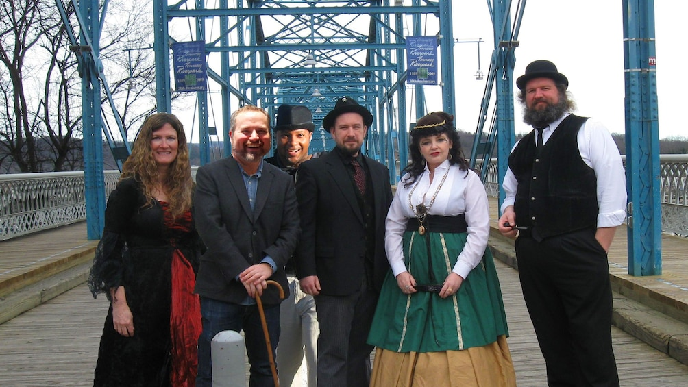 Show item 5 of 6. Ghost tour guides in Chattanooga