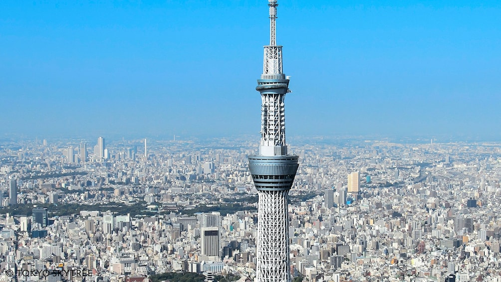 Show item 5 of 5. View of observation deck of Skytree in Tokyo