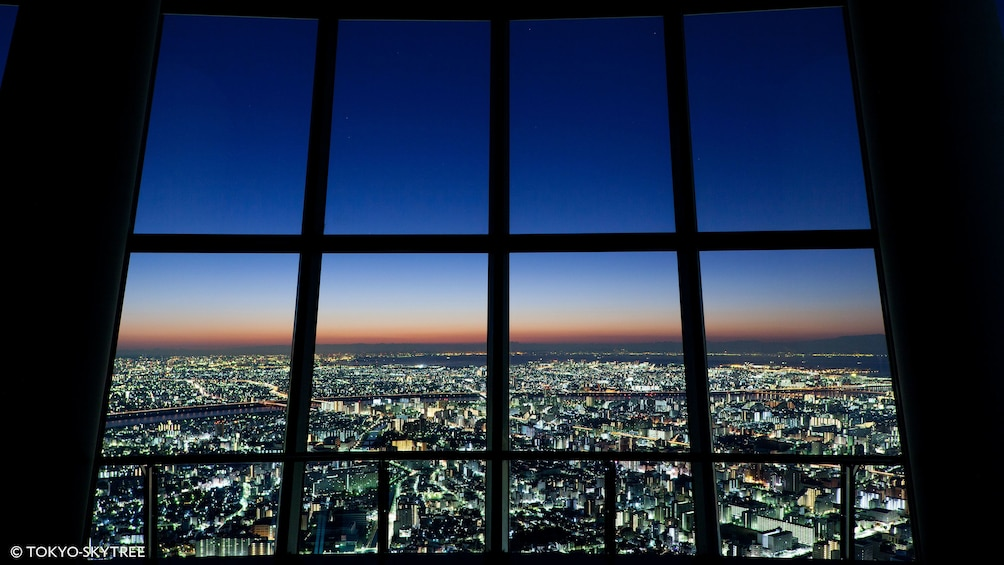 Show item 2 of 5. View of Tokyo at night from Skytree in Tokyo