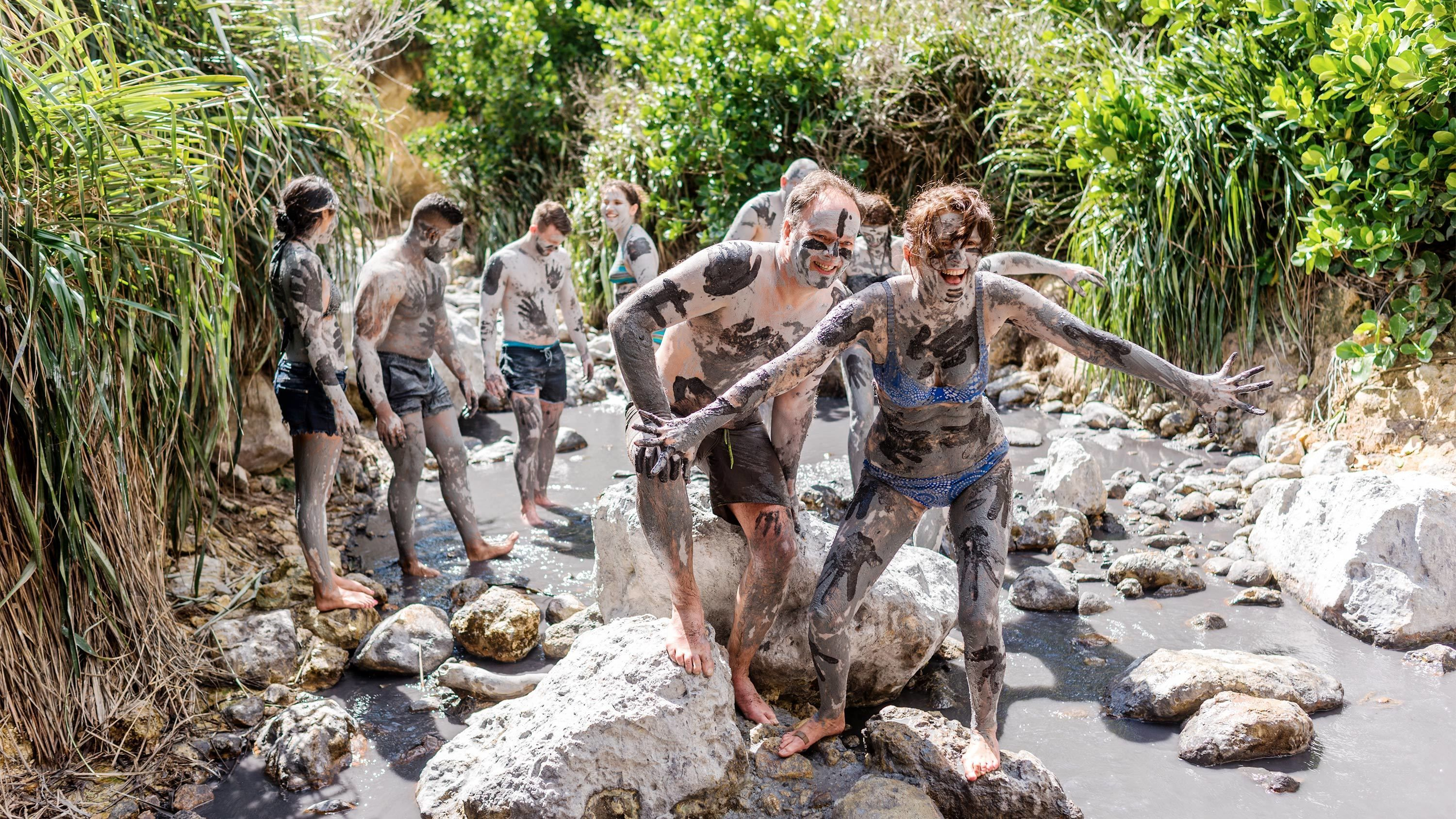Sulfur Springs & Mud Baths Tour with Private Transportation