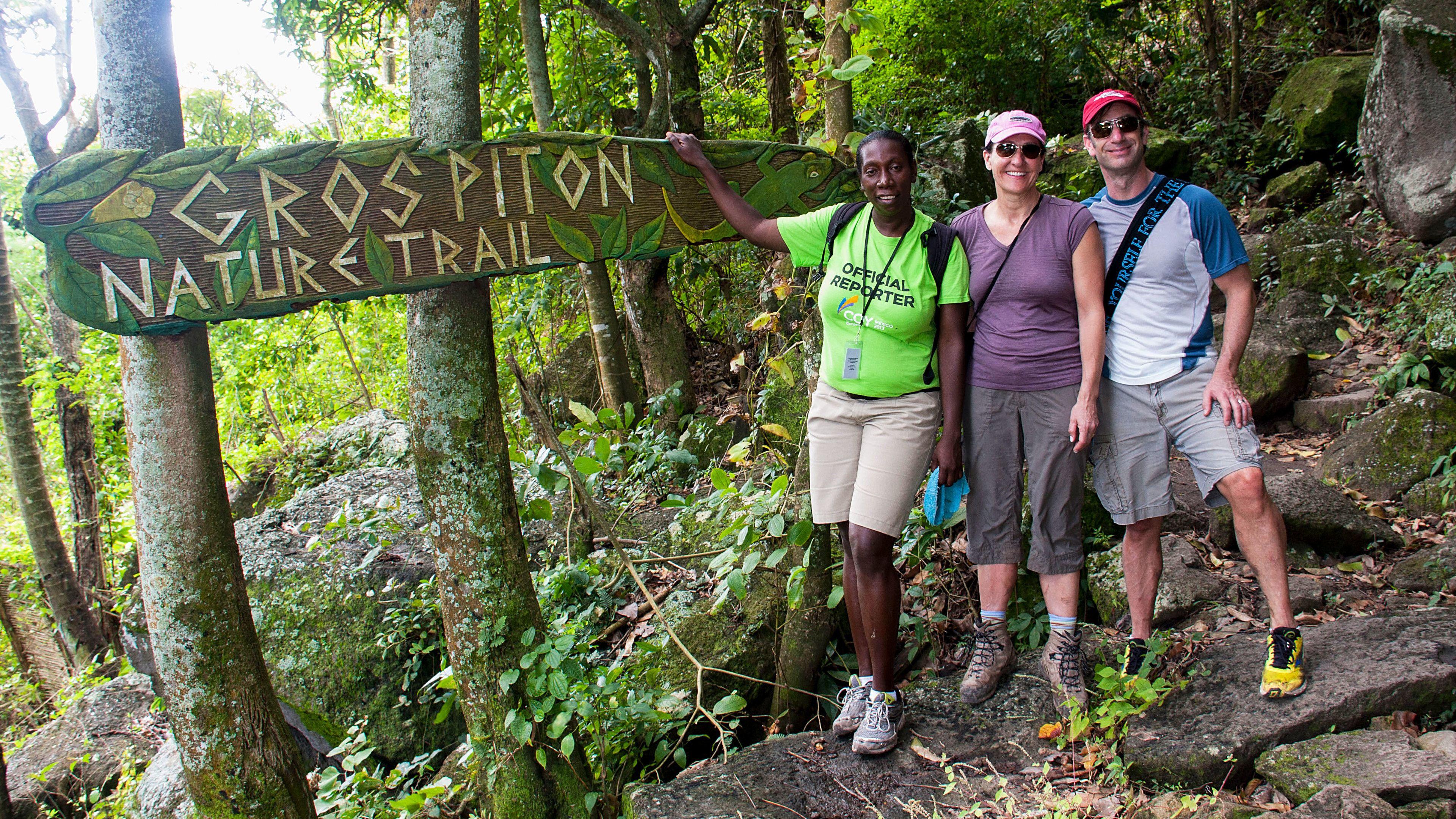 Full-Day Gros Piton Hiking Adventure