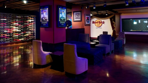 Hard Rock Cafe lounge in New York