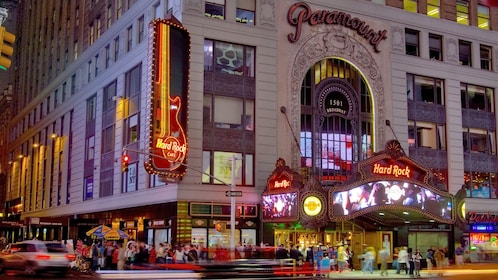 Entrance to the Hard Rock Cafe in New York