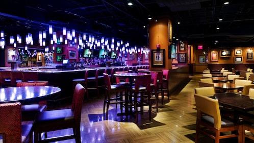 Hard Rock Cafe bar in New York