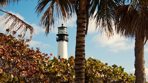 Biscayne Bay lighthouse in Miami
