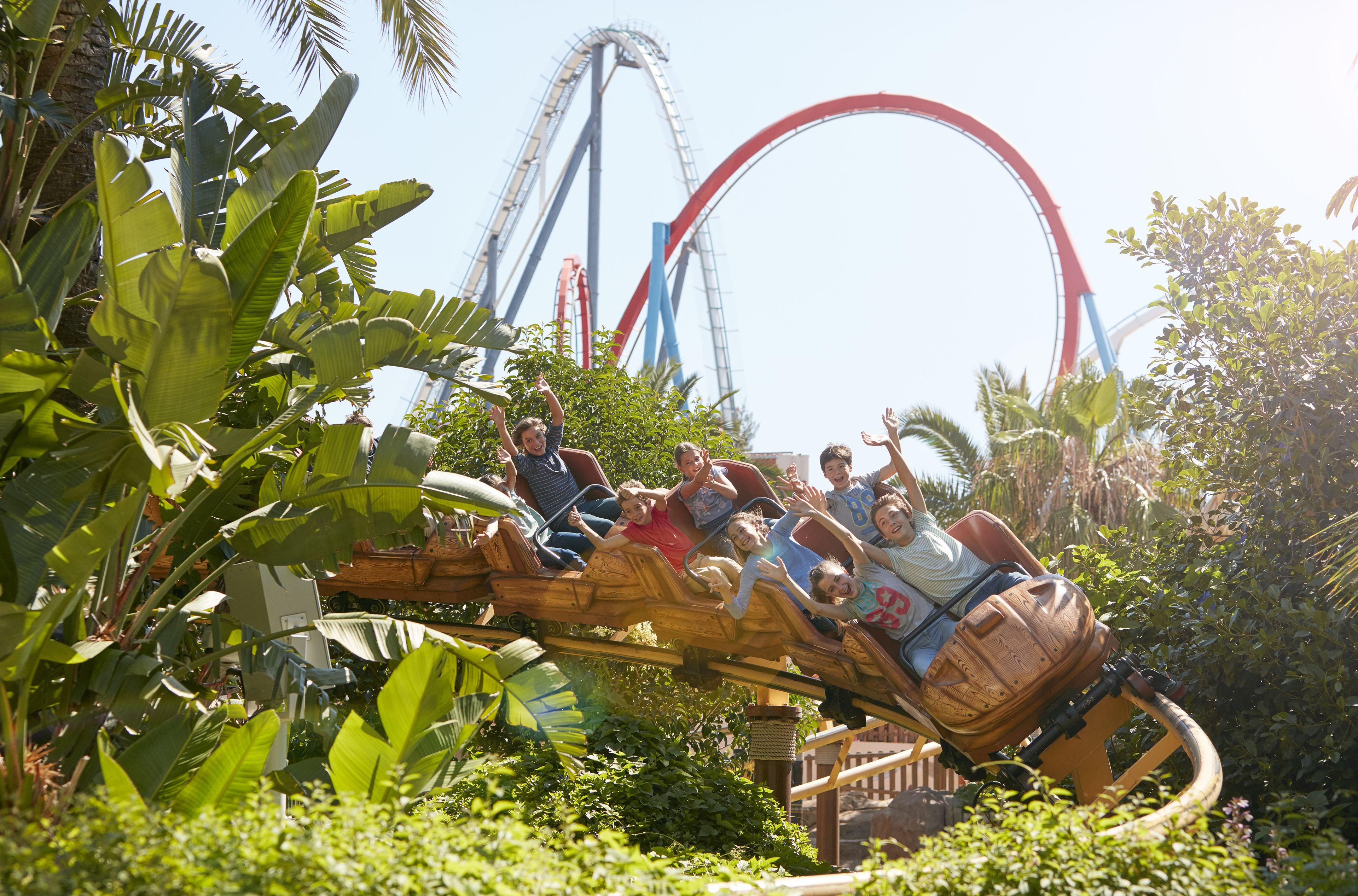PortAventura Park & Ferrari Land Tickets with Transportation