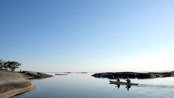 Kajaktour door de archipel bij Stockholm, inclusief lunch