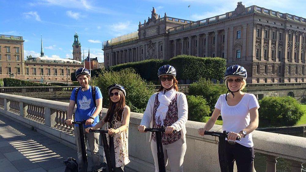 Segway-Tour durch die Stadt in kleiner Gruppe