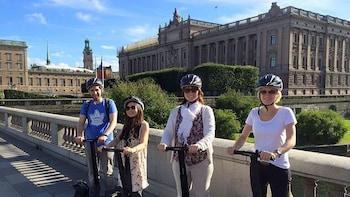 Tur i Stockholm med Segway