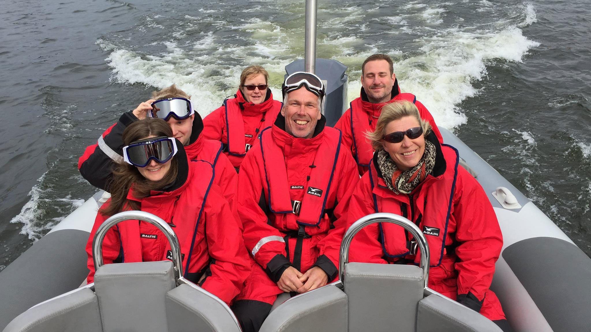 Tour im Schnellboot zum Stockholmer Schärengarten
