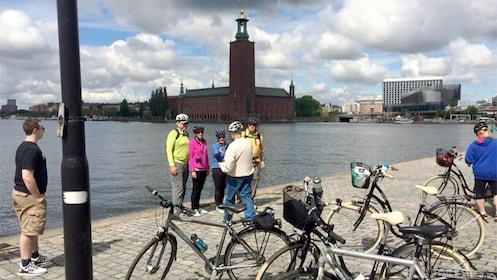 View of the Stockholm Bike Tour