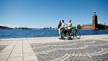 Cykeltur i Stockholm på engelska