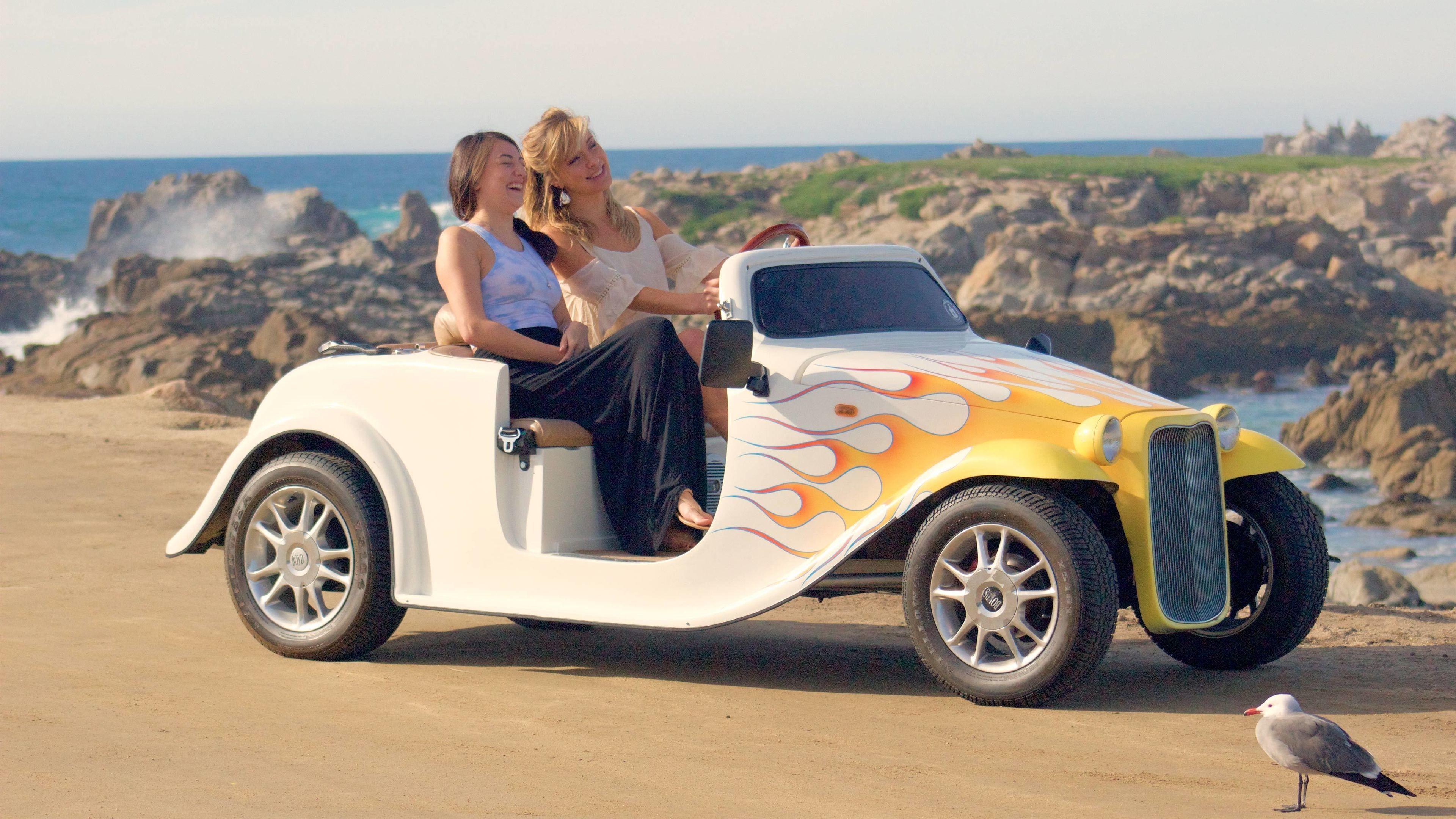 Self-Drive Monterey Bay & Pebble Beach Tour in an Electric Convertible