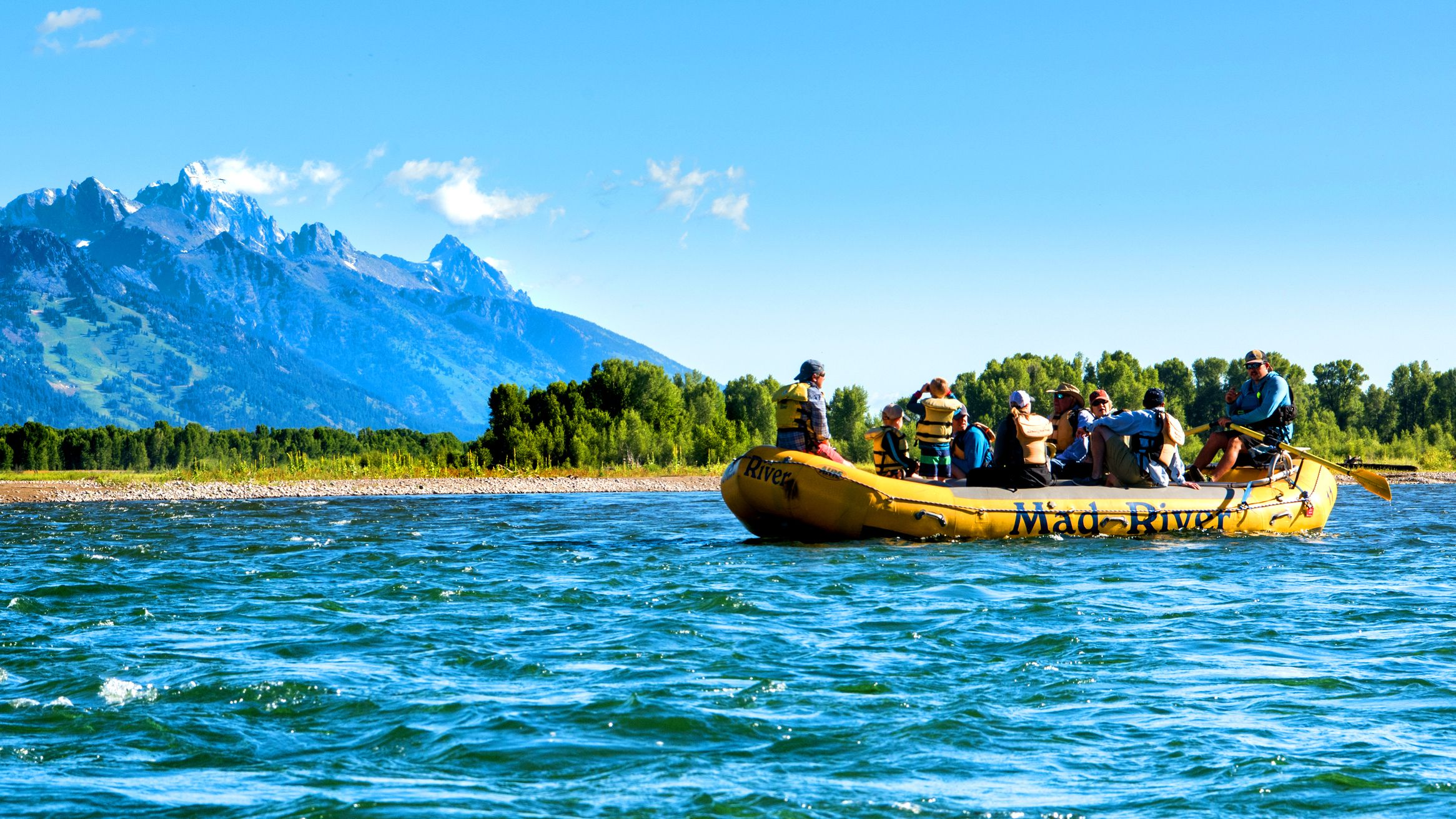 Scenic Float with Teton Views (13-Mile Scenic)