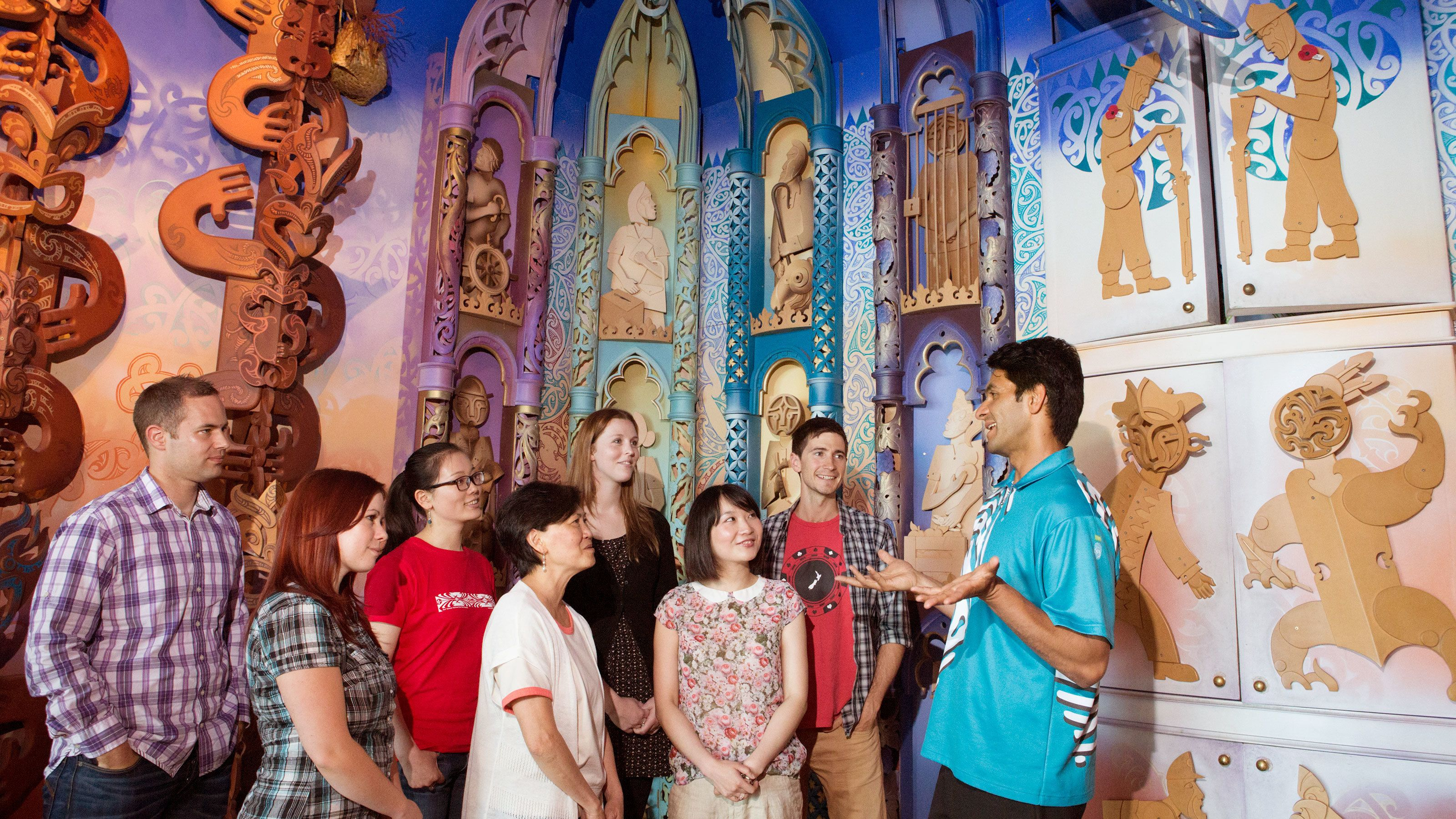 Guided Tour & Admission to the Museum of New Zealand Te Papa Tongarewa