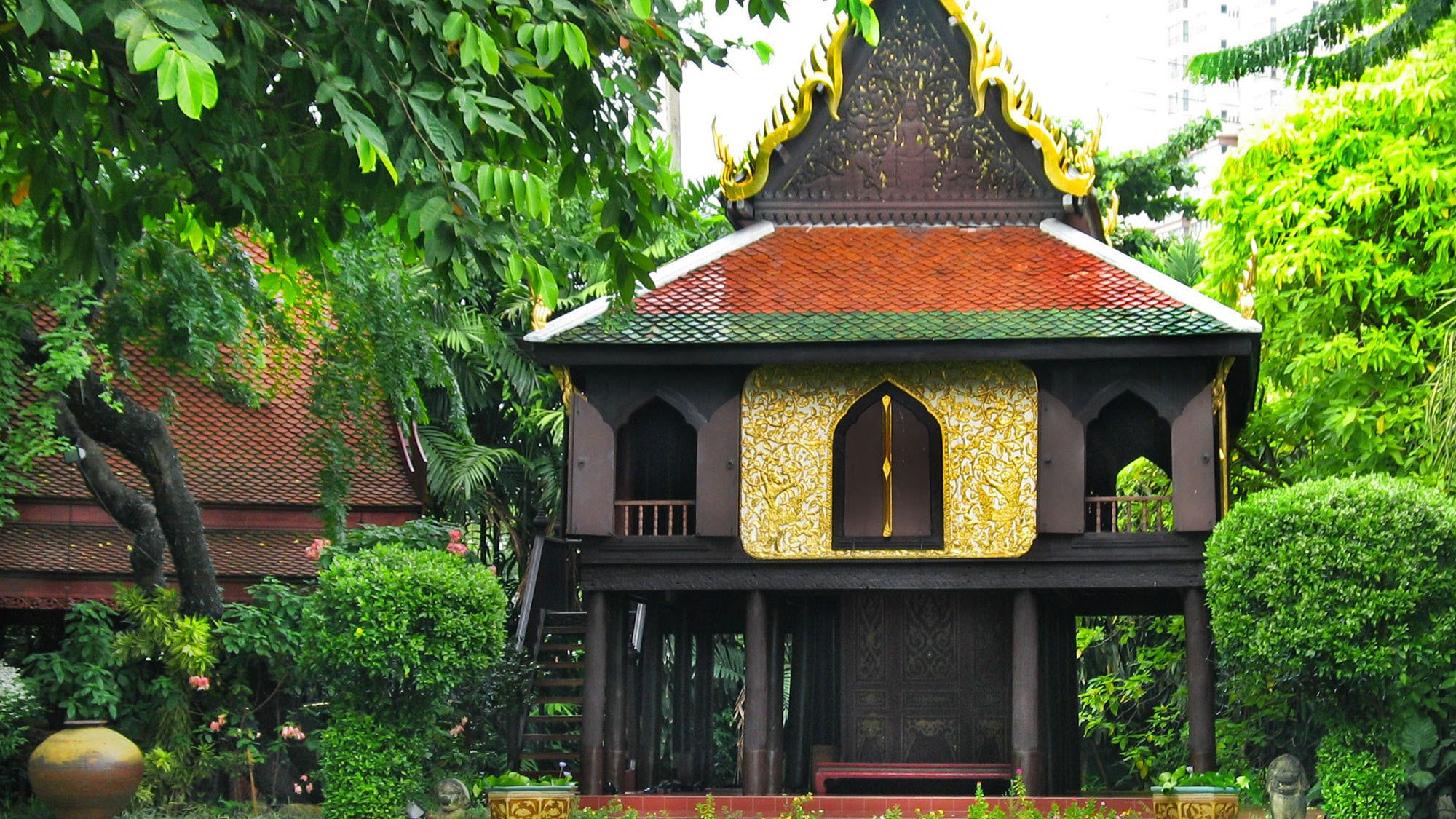 Traditional building in Siam