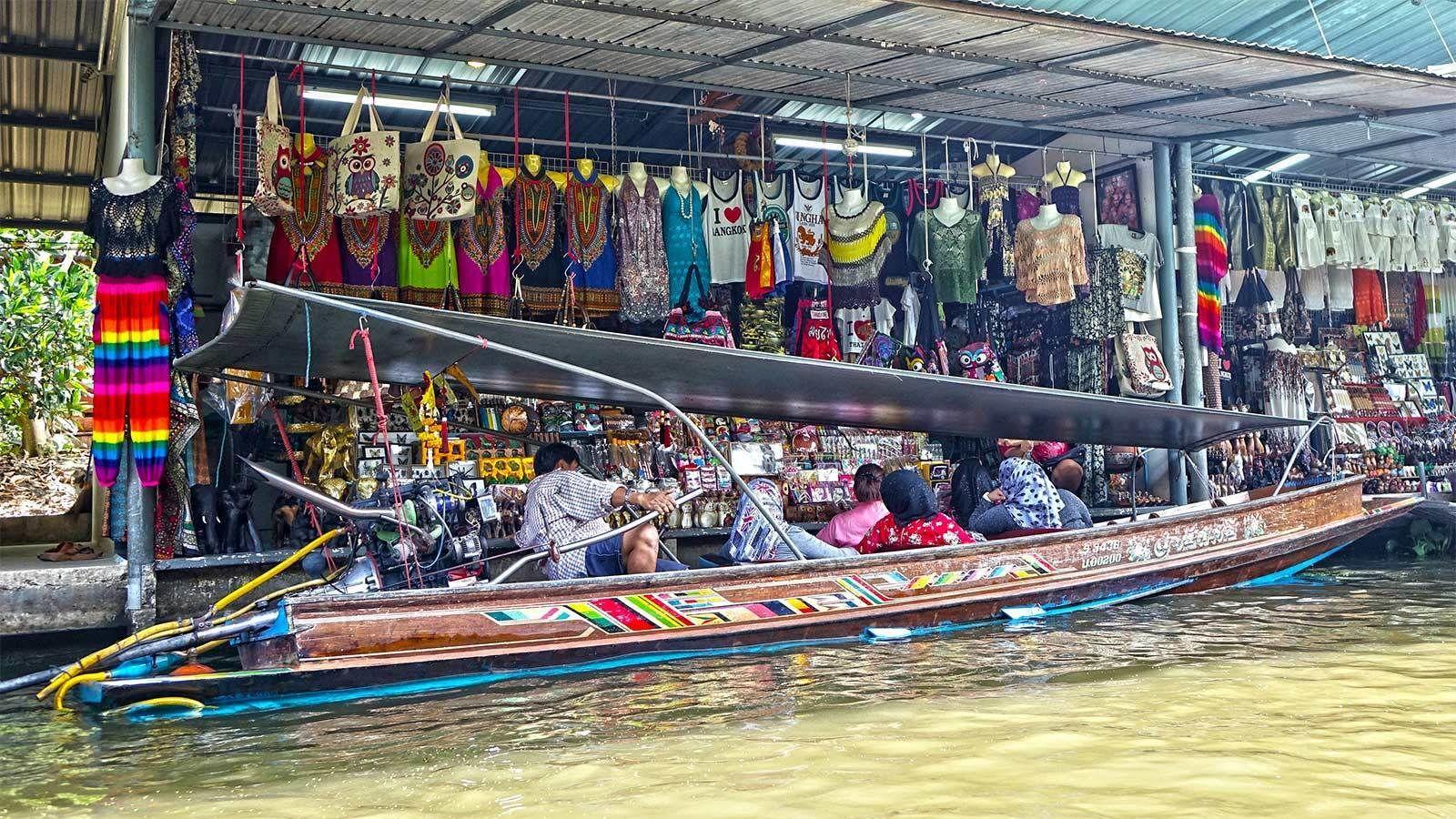 Private Half-Day Damnoen Saduak Floating Market Tour