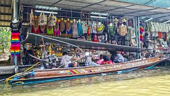 Private Half-Day Damnoen Saduak Floating Market Tour