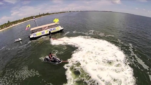 Flyboard activity in Miami
