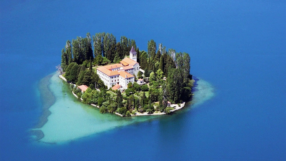 Show item 4 of 5. Aerial view on the Krka National Park Private Tour
