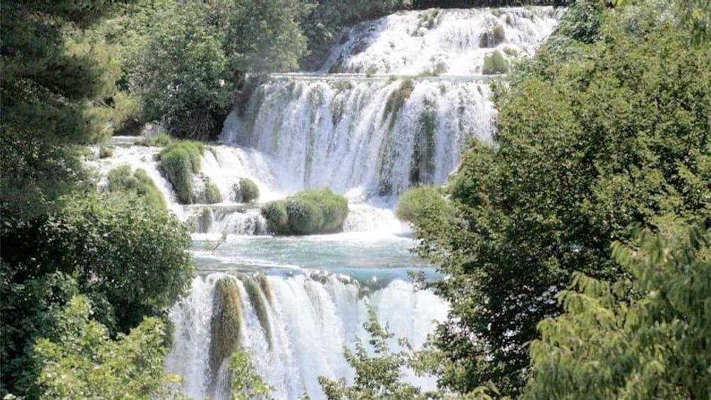 Show item 1 of 5. Waterfall in Croatia