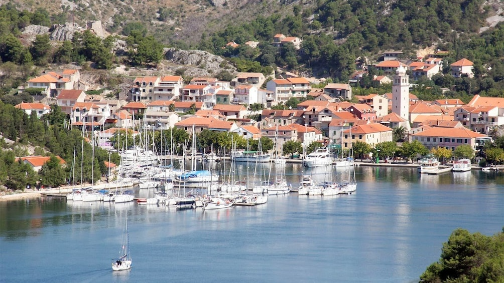 Show item 3 of 5. Daytime view of Skradin Town in Croatia