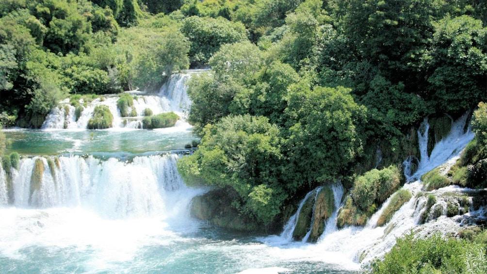Show item 5 of 5. Beautiful falls at Krka National Park in Croatia