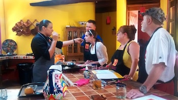 6-Course Mexican Cooking Experience and Feast with Transport
