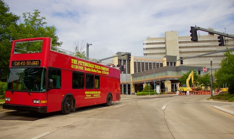 Guided Double-Decker Bus Sightseeing Tour Of Pittsburgh