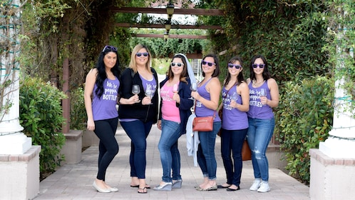 Ladies on a Wine Tour in Orange County, CA