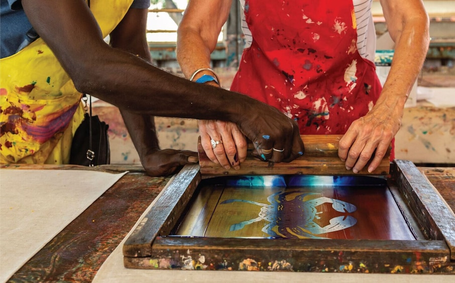 Show item 1 of 4. Immerse yourself in this premium SeaLink Tiwi Islands art &