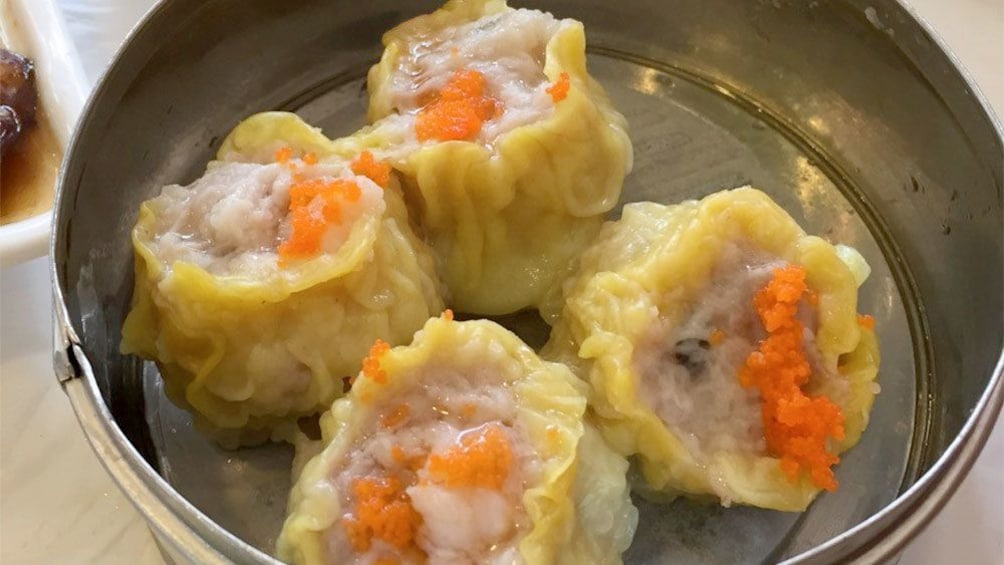 Show item 5 of 5. Dim sum on the  A Wok Around Chinatown tour in Vancouver BC