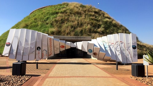 Maropeng Visitor Center in South Africa