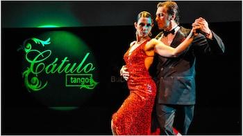 Espectáculo de tango en Cátulo con cena opcional