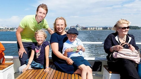 Family on the Helsinki Grand Tour in Finland