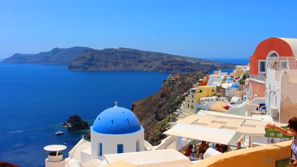 Öppna foto 2 av 5. Coast of Santorini