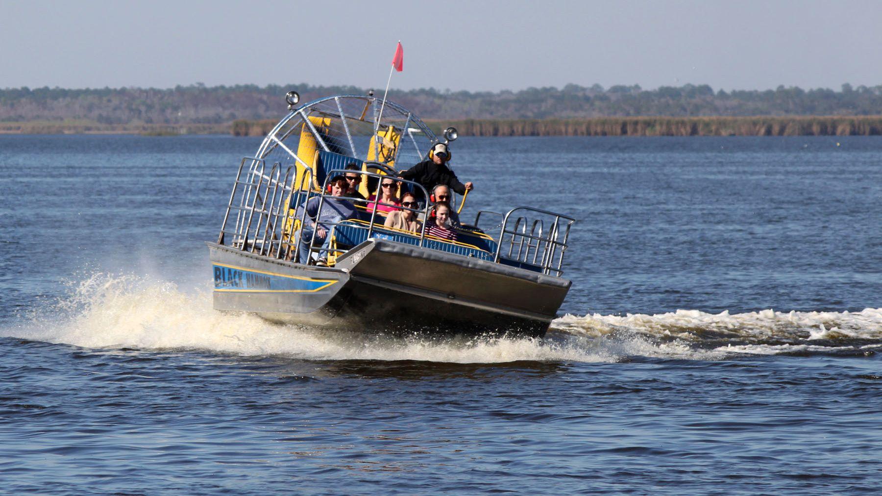 Airboat Ride of Lake Jesup & Bird Island